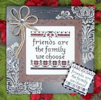 Friends Are Family - Cross Stitch Pattern