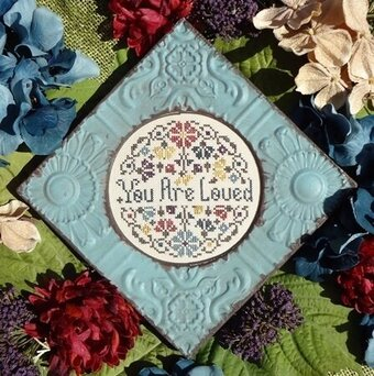 You Are Loved - Cross Stitch Pattern