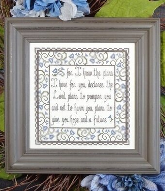 Hope and a Future - Cross Stitch Pattern