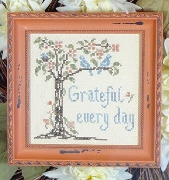 Grateful Every Day - Cross Stitch Pattern