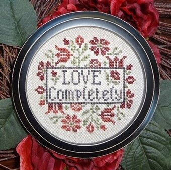 Love Completely - Cross Stitch Pattern