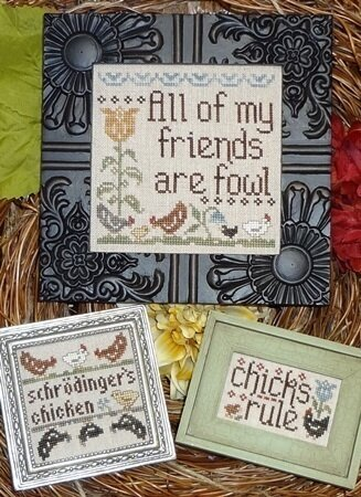 Fowl Friends - Cross Stitch Pattern