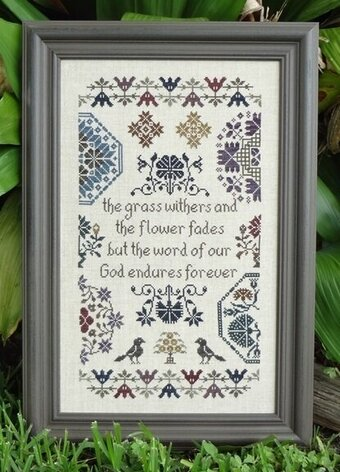 Quaker Endurance - Cross Stitch Pattern