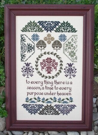 Quaker Seasons - Cross Stitch Pattern