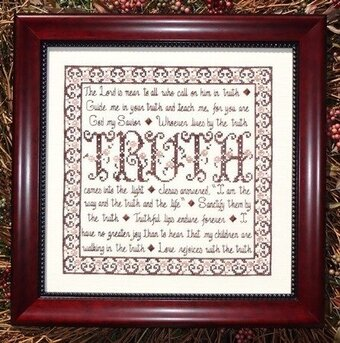 Building Blocks - Truth - Cross Stitch Pattern