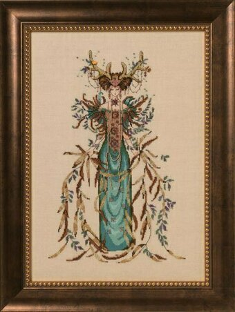 Cathedral Woods Goddess - Cross Stitch Pattern