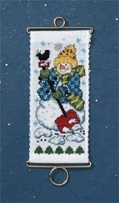 Digging Out - Beaded Cross Stitch Kit