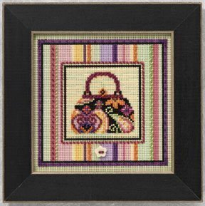 Handbag - Beaded Cross Stitch Kit