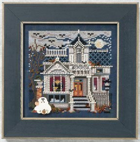 Haunted Mansion - Beaded Cross Stitch Kit