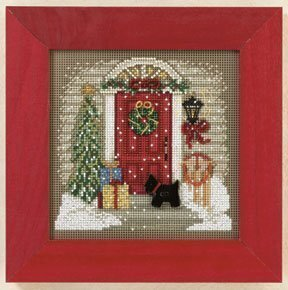 Home for Christmas - Beaded Cross Stitch Kit
