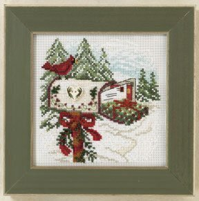 Holiday Delivery - Beaded Cross Stitch Kit