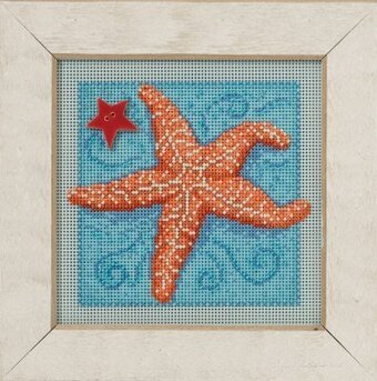 Starfish - Beaded Cross Stitch Kit