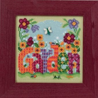 Garden - Beaded Cross Stitch Kit