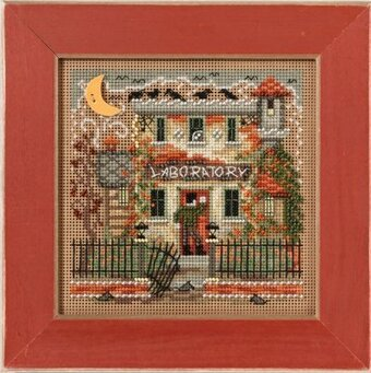 Haunted Laboratory - Beaded Halloween Cross Stitch Kit