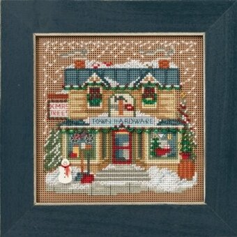 Town Hardware - Beaded Cross Stitch Kit