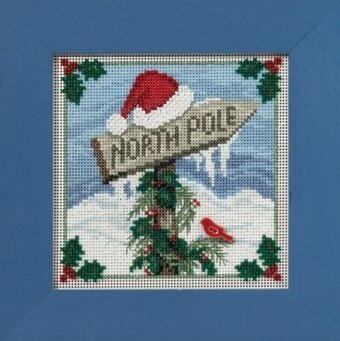 North Pole - Beaded Cross Stitch Kit