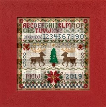 Holiday Sampler - Beaded Cross Stitch Kit