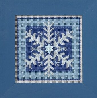 Crystal Snowflake - Beaded Cross Stitch Kit