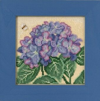 Hydrangea - Beaded Cross Stitch Kit