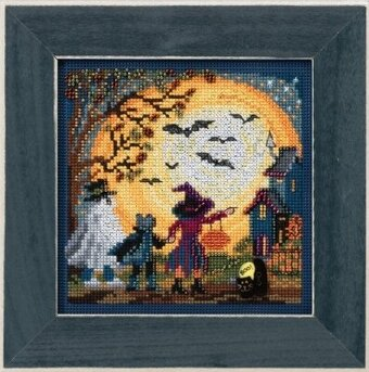 Moonlit Treaters - Cross Stitch Kit