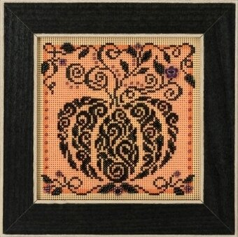Enchanted Pumpkin - Beaded Cross Stitch Kit