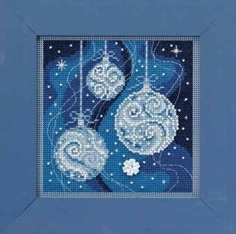 Ornament Elegance - Beaded Cross Stitch Kit