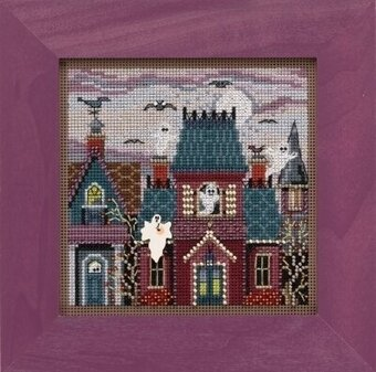 Ghost Town - Beaded Cross Stitch Kit