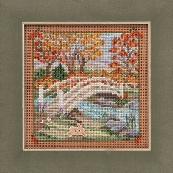 Foot Bridge - Beaded Cross Stitch Kit