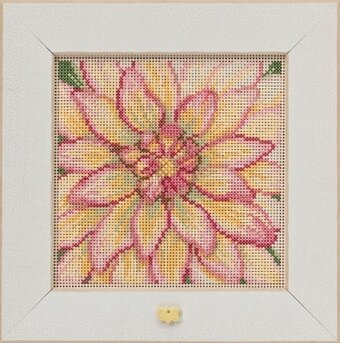Dahlia - Beaded Cross Stitch Kit