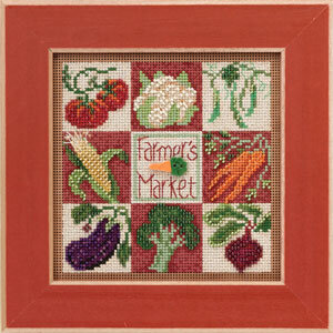 Farmer's Market - Beaded Cross Stitch Kit