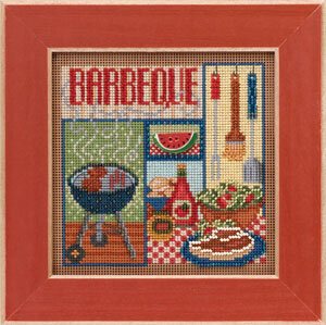 Barbeque - Beaded Cross Stitch Kit