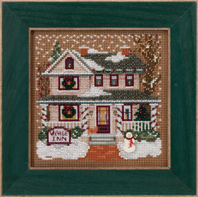 Village Inn - Beaded Cross Stitch Kit