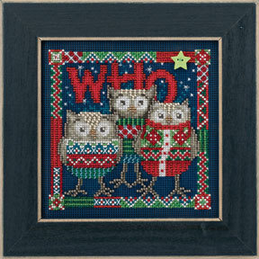 Who Trio - Beaded Cross Stitch Kit