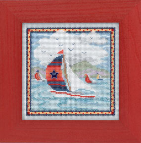 Summer Breeze - Beaded Cross Stitch Kit