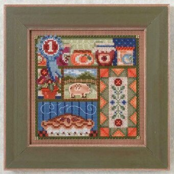 County Fair - Beaded Cross Stitch Kit