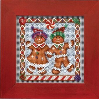 Ginger Friends - Beaded Cross Stitch Kit