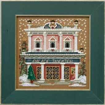 Palace Theater - Beaded Cross Stitch Kit