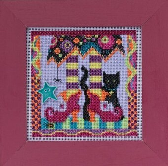 Magic Shoes - Beaded Cross Stitch Kit