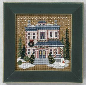 Victorian House - Beaded Cross Stitch Kit