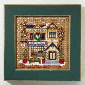 Apothecary - Beaded Cross Stitch Kit