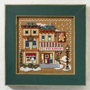 Village Bakery - Beaded Cross Stitch Kit