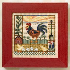 Barnyard Morning - Cross Stitch Kit