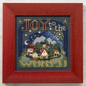Joy to the World - Beaded Cross Stitch Kit