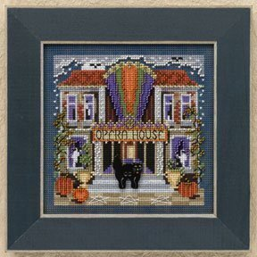 Opera House - Beaded Cross Stitch Kit