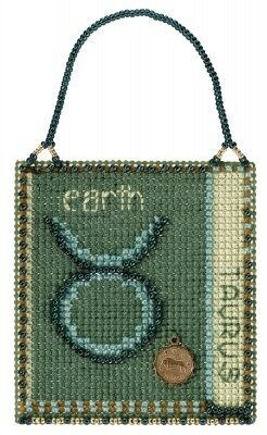 Taurus - Beaded Cross Stitch Kit