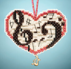 Love Notes - Beaded Cross Stitch Kit