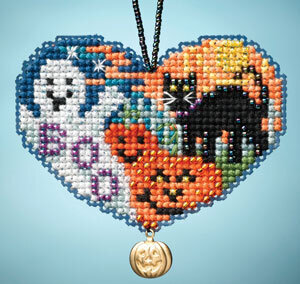 Love Halloween - Beaded Cross Stitch Kit