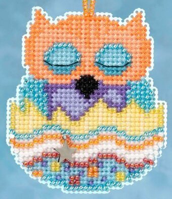Tango (Owlets) - Beaded Cross Stitch Kit