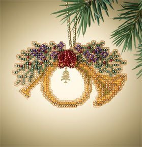 French Horn - Beaded Cross Stitch Kit