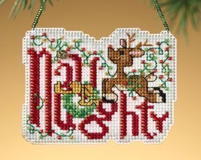 Naughty - Beaded Cross Stitch Kit